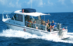Puerto Rico dive resorts dive shop boat