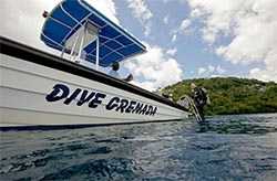 Dive Grenada resorts dive  boat
