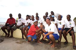 St Lucia dive team serving resorts on St Lucia